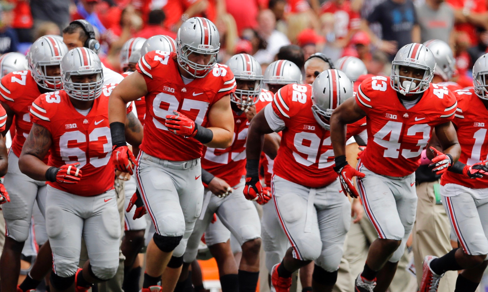With 8 Starters Departing What Will Ohio State S Offense