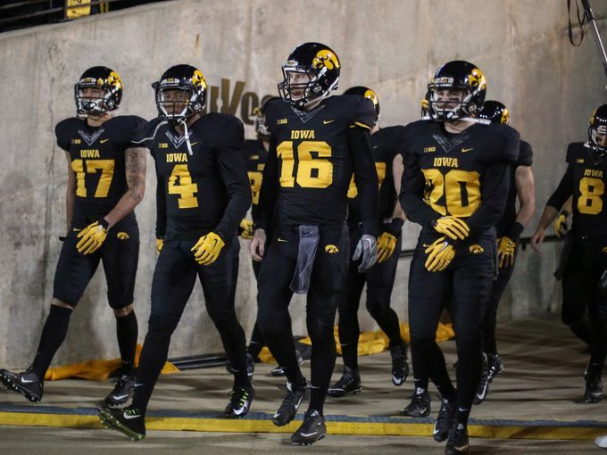 Iowa unveils alternate blackout uniforms for the upcoming game vs ... 3bbc6ecf5